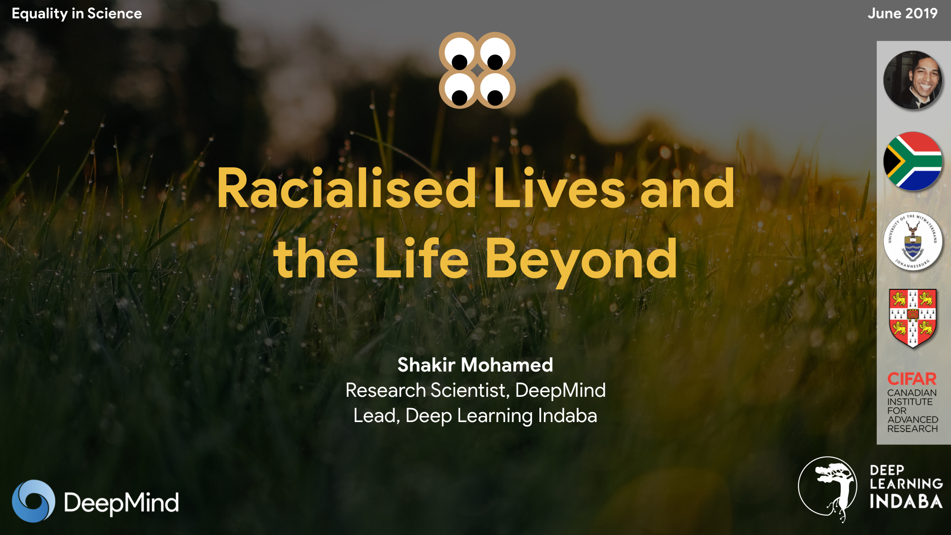 Racialised Lives and the Life Beyond