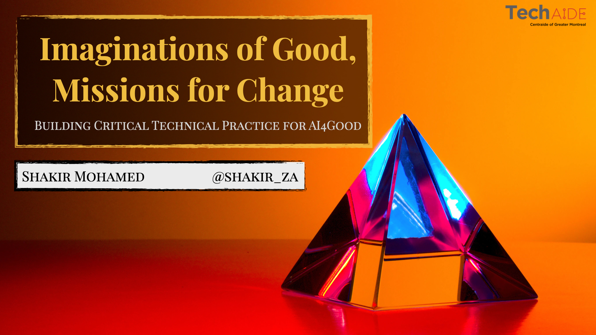 Imaginations of Good, Missions for Change